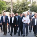 الوفد المصري مع قادة حماس