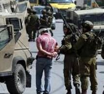 حملة اعتقالات بالضفة