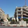 دوار المنارة وسط مدينة رام الله