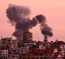 غارات على مواقع للمقاومة بقطاع غزة