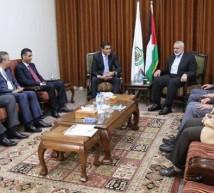 اجتماع بين حماس والمصريين