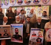 اعتصام اهالى الاسرى امام الصليب الاحمر فى مدينة غزة 20-نوفمبر-2017