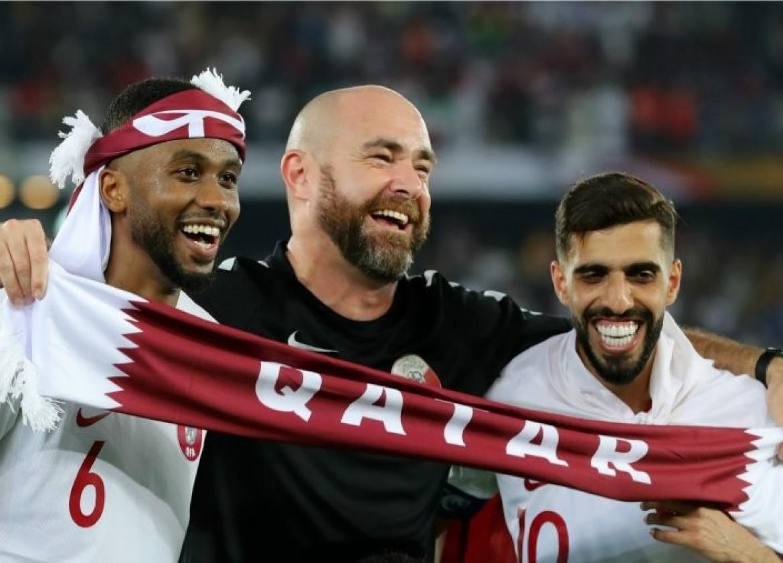 مشجعون قطريون
