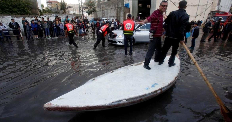 منخفض جوي في غزة