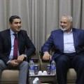 الوفد المصري مع حماس