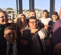 المحررة ياسمين شعبان وابنائها الاربعة