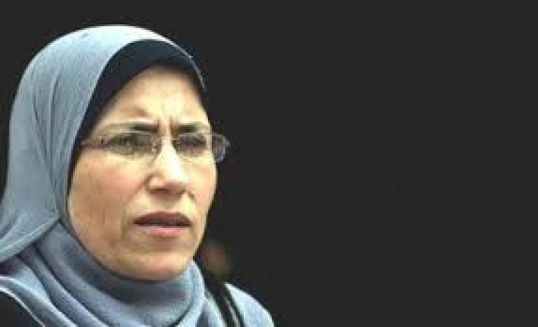 اعتقال النائب سميرة الحلايقة من الخليل