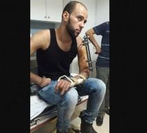 الجريح أكرم عمران الاطرش23 عاما