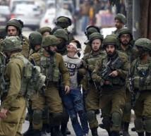 اعتقال الأطفال فى فلسطين