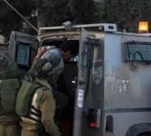اعتقال 9 مواطنين بالضفة المحتلة