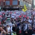 تظاهر في برطانيا رفضا لزيارة نتنياهو