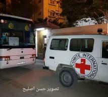 22 من أهالي أسرى غزة يزورون 17 أسيرًا بـنفحة