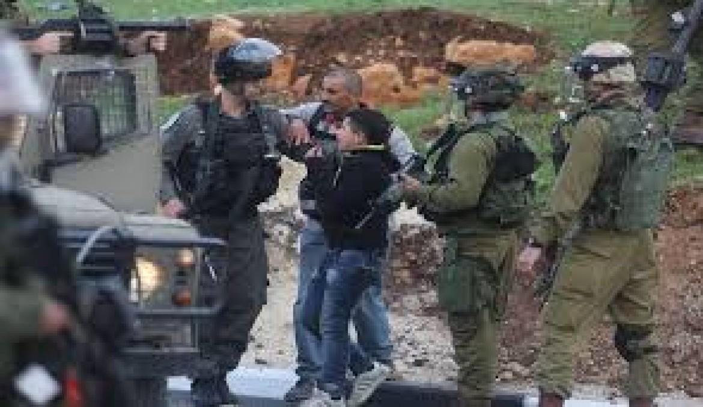 مواجهات واعتقال 6 شبان برام الله