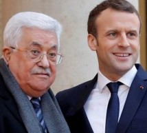 الرئيسان الفلسطيني والفرنسي