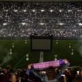 أرشيف - جماهير ريال مدريد في ملعب  سنتياغو برنابيو