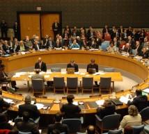 اجتماع مجلس الأمن
