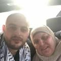 اللحظات الأولى للإفراج عن الأسير عثمان زيادة