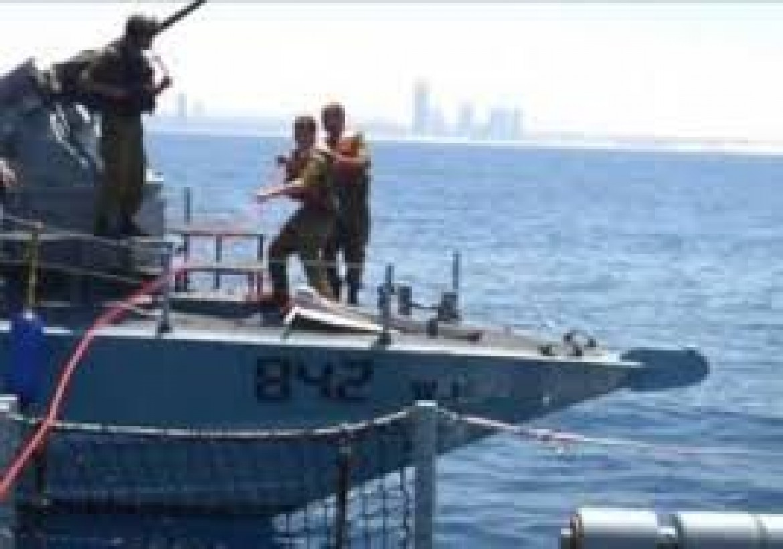 بحرية الاحتلال تعتقل 3 صيادين من بحر غزة