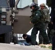 اعتقال 11 مواطنًا بالضفة
