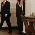 ترامب ومحمد سلمان