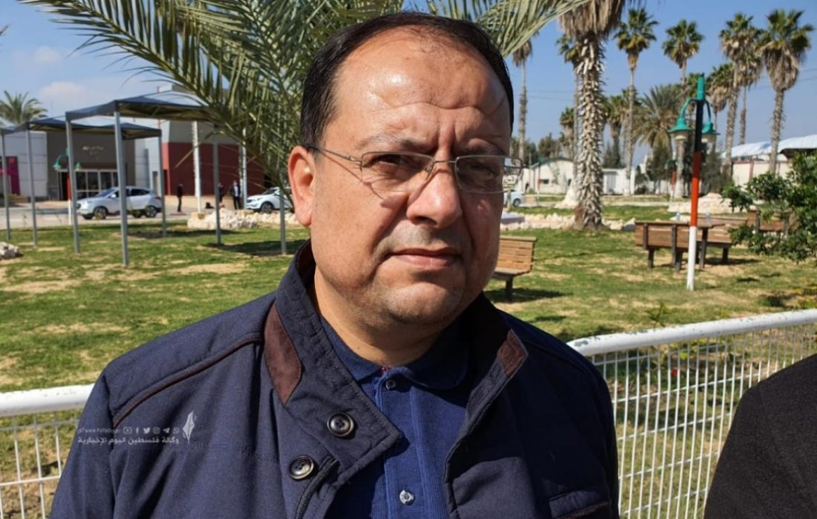 القيادي في حركة الجهاد الاسلامي داوود شهاب