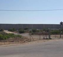 جدار اسمنت تمنع الفلسطينين من زيارة اهاليهم