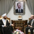 الهباش مع مفتي سوريا