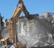 الاحتلال يهدم 4 منازل لأسرى شمال الخليل