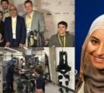 فوز فلسطينية بجائزة المليون دولار  بعد تطويرها قدم ذكية
