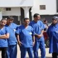 عمال النظافة في مشفى الشفاء