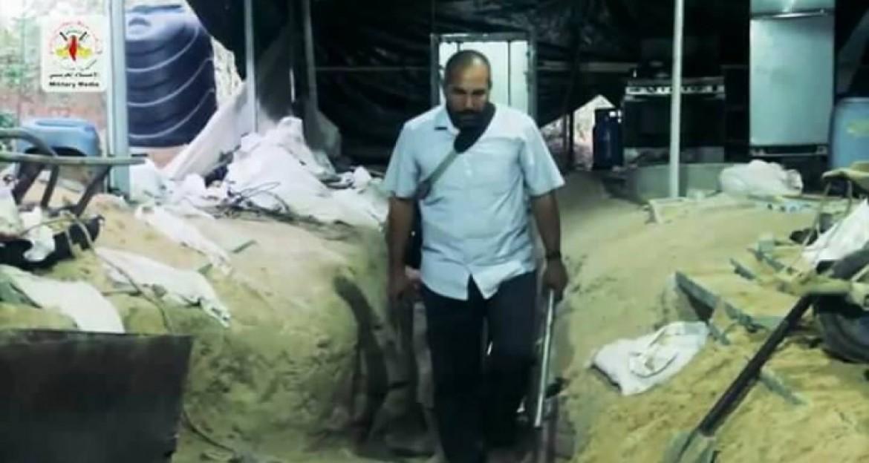 مسؤول لواء الوسطى و عضو المجلس العسكري بسرايا القدس عرفات ابو عبد الله