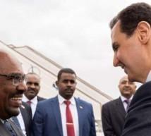 الرئيسان السوري والسوداني