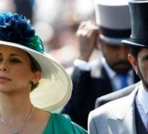 أمير دبي وزوجته