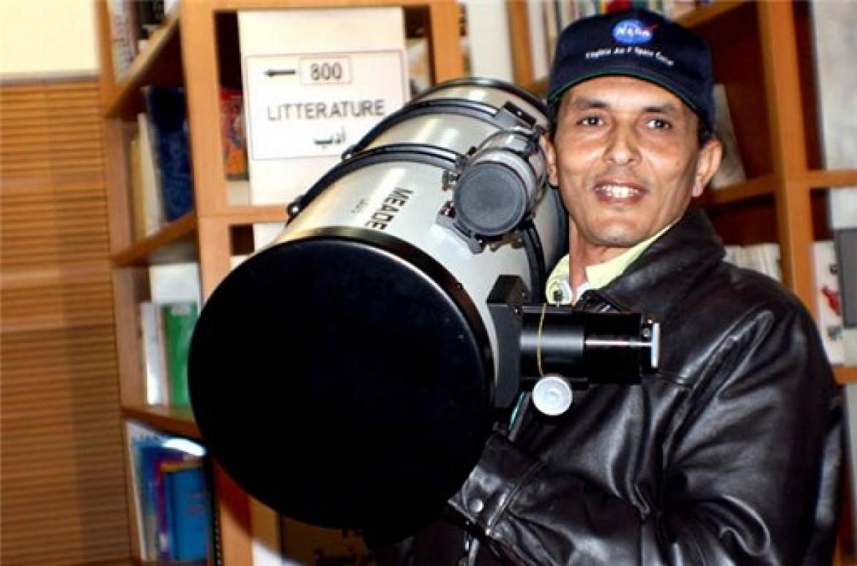 دكتور سليمان بركة عالم الفيزياء الفلكية سليمان بركةفيزيائي فلكي