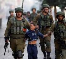 300 طفل يقبعون في معتقلات الاحتلال