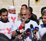 مؤسسة مهجة القدس للشهداء والأسرى تنظم مؤتمراً امام الصليب الاحمر اليوم