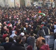 14-3-2017 |مسيرة جماهيرية حاشدة وسط مدينة رام الله