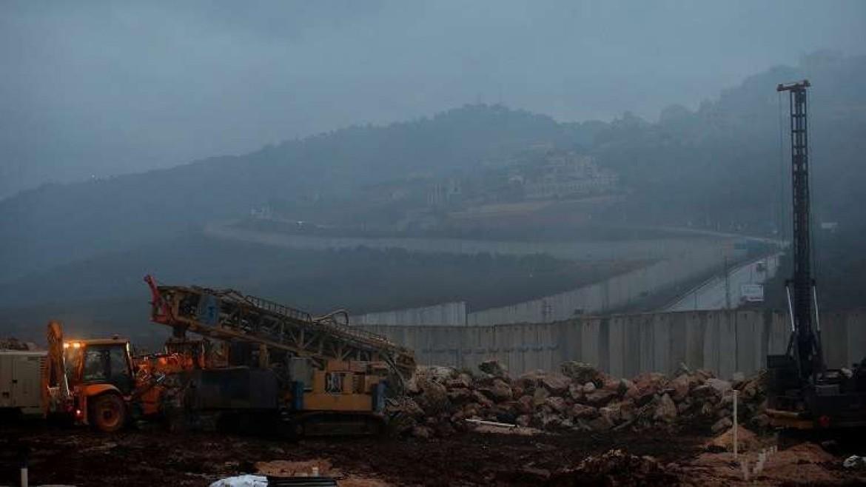 حدود فلسطين المحتلة مع لبنان