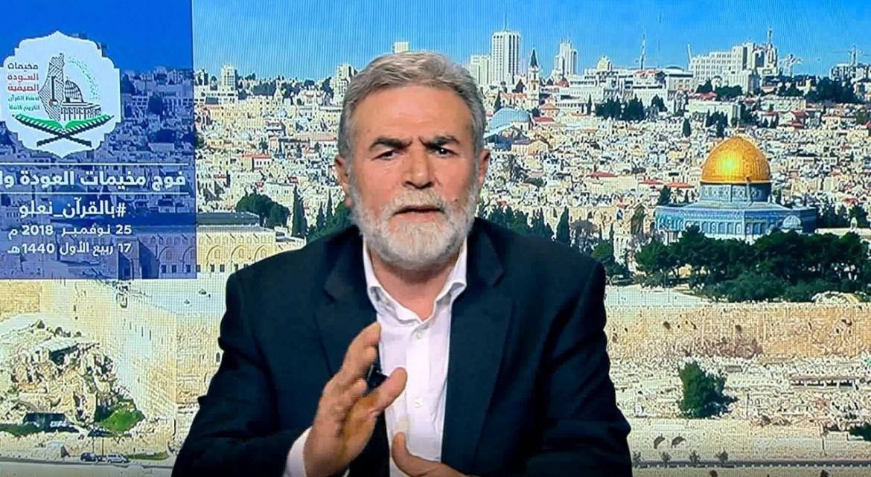 الاستاذ زياد النخالة الأمين العام لحركة الجهاد الإسلامي في فلسطين