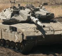 دبابة لجيش الإحتلال