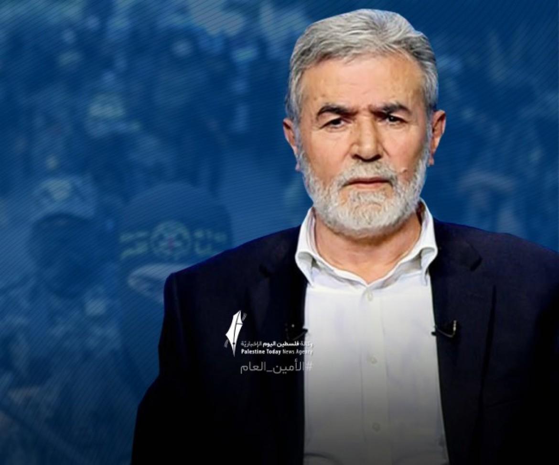 الاستاذ زياد النخالة الامين العام لحركة الجهاد الإسلامي في فلسطين