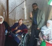 مشاركة الأسير خضر عدنان  في خيمة التضامن مع الأسرى