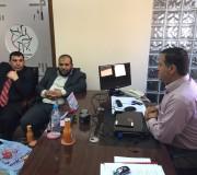 زيارة تكريمية من الاتحاد الإسلامية في نقابة المحاميين