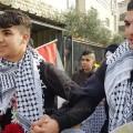 تنسم الطفلين المقدسيين شادي فراح وأحمد الزعتري عبير الحرية اليوم