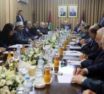صورة من مجلس الوزراء في غزة
