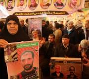اعتصام اهالى الاسرى امام مقر الصليب الاحمر بمدينة غزة بتاريخ 22-1-2018