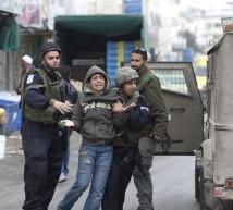 قوات الاحتلال تعتقل طفل فلسطيني