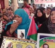 بالصور: الاعتصام الأسبوعي لأهالي الأسرى بمقر الصليب الأحمر بغزة الاثنين 15/5/2017
