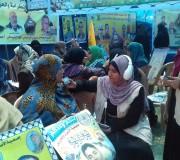 بالصور: طاقم إذاعة الأسرى والنقل المباشر من داخل خيمة التضامن بساحة السرايا - غزة الأربعاء 26/4/2017