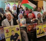 الفعالية الأسبوعية لاهالي الاسرى في الصليب الأحمر - غزة ١٦/١١/٢٠١٥